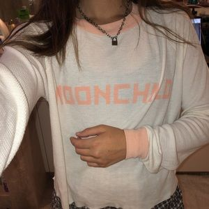 MOONCHILD Wildfox Ringer Long Sleeve
